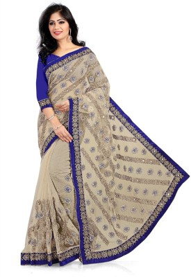 943456fb17ed3c 75% OFF on Geet Fashion Solution Embroidered Bollywood Georgette ...