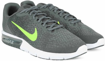 Nike AIR MAX SEQUENT 2 Running Shoes For Men(Grey) 1