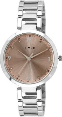 Timex TW000X201 Fashion Analog Pink Dial Women's Watch
