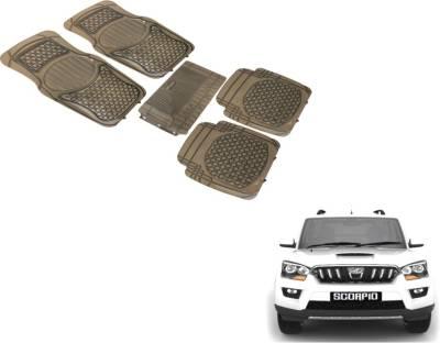 Auto Hub PVC Standard Mat For  Mahindra New Scorpio