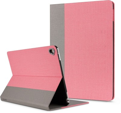 HATGA CASE Front & Back Case for Apple iPad Pro 10.5 inch(Pink, Grey, Cases with Holder)