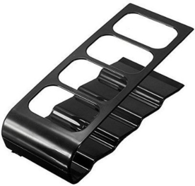 Swarish 1 Compartments Metal Mobile Phone Cordless Organizer Stand Shelf Rack Holder(Black)  available at flipkart for Rs.300