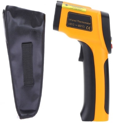 Divinext DI-015 -50° to 550°C PROFESSIONAL HIGH QUALITY Digital Laser Gun Infrared IR Digital Thermometer(Yellow)