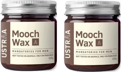 Ustraa Mooch & Beard Wax For Men (Pack of 2) Hair Styler