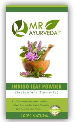 Mr ayurveda 100% Organic Indigo Leaf Powder Hair Color(Indigo)  available at flipkart for Rs.279