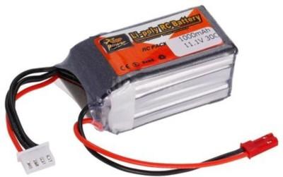 SunRobotics ZoP Power LI-PO 1000MAH 30C 11.1V BATTERY(Red)