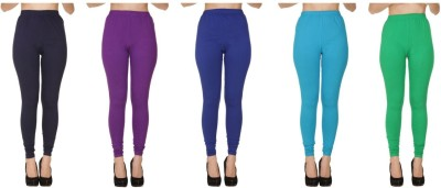 Bembee Churidar  Legging(Maroon, Blue, Green, Purple, Light Blue, Dark Green, Solid)
