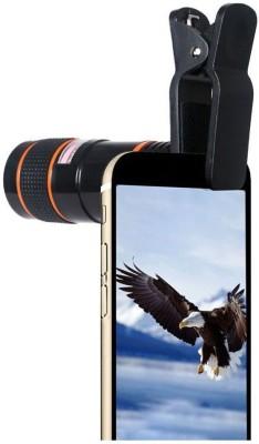 IRONFIX Universal 8X Zoom Telescope Camera + Adjustable Holder Mobile Phone Lens(Wide and Macro) 1