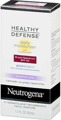 Neutrogena Healthy Defense Daily Moisturizer Sensitive Skin Lotion(50.28 ml)