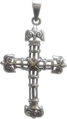 Silver Tree925 Religious Cross Pendant Sterling Silver Locket