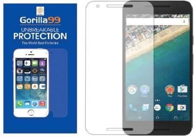 Gorilla99™ Screen Guard for Google Nexus 6P(Pack of 1)