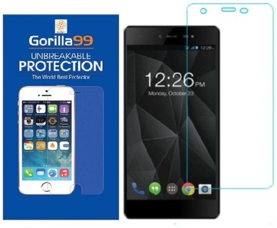 Gorilla99™ Tempered Glass Guard for Micromax Canvas 1(Pack of 1)