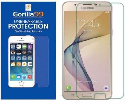 Tough Lee Tempered Glass Guard for Samsung Galaxy A5 2016 (5.2 inch, Gold)