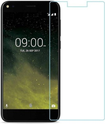 EASYBIZZ Tempered Glass Guard for Lava Z70(Pack of 1)