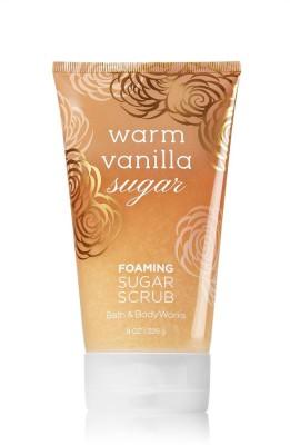 Bath & Body Works Foaming Sugar Scrub, Warm Vanilla Sugar - 226g (8oz) Scrub(226 g) 1
