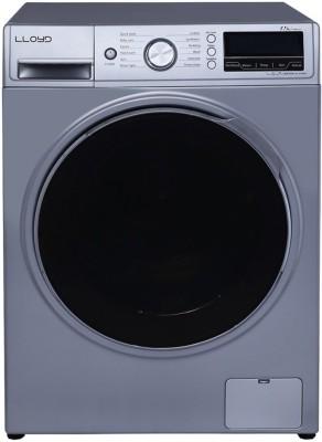 Lloyd 7.5 kg Fully Automatic Front Load Washing Machine Silver, Black(LWMF75S) (Lloyd)  Buy Online