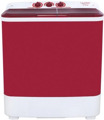 Llloyd 6.5 kg Semi Automatic Top Load Washing Machine Red, White(LWMS65RP) (Llloyd)  Buy Online