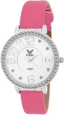 Fogg 3036-WH-CK MODISH Analog Watch For Girls