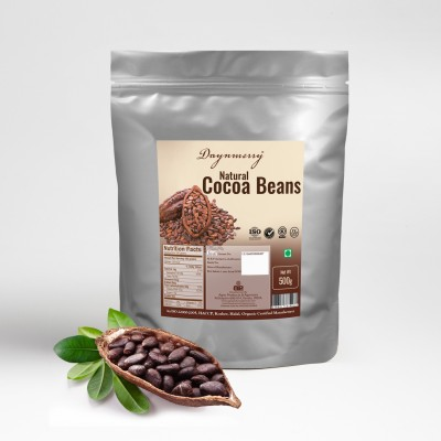 Daynmerry Natural Cocoa Beans- 500 gm Cocoa Solid(500 g)