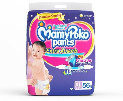 Mamy Poko Pants XL Diapers (56 Pieces)