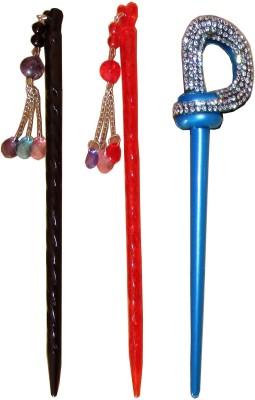 Toni&Guy Combo of Multi Color Juda Sticks Bun Stick(Multicolor)