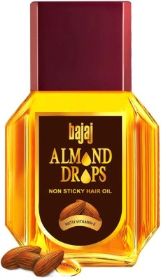 Bajaj Almond Drops Non Sticky Hair Oil 50ml Hair Oil(50 ml)  available at flipkart for Rs.199