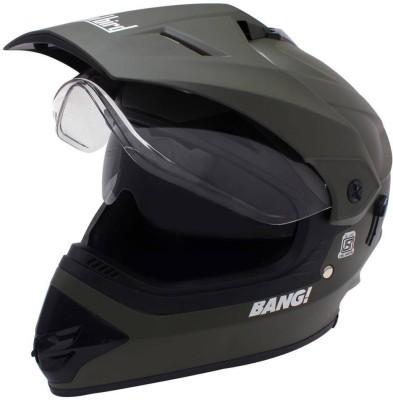 Steelbird Sb-42 Bang Matt Motorbike Helmet(H.Grey)