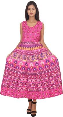 VAASTRA Women Gathered Multicolor Dress