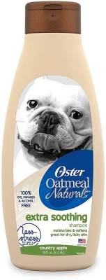 Oster Oster Oatmeal Naturals 4-in-1 Shampoo Anti-microbial mango peach Dog Shampoo(532 ml)