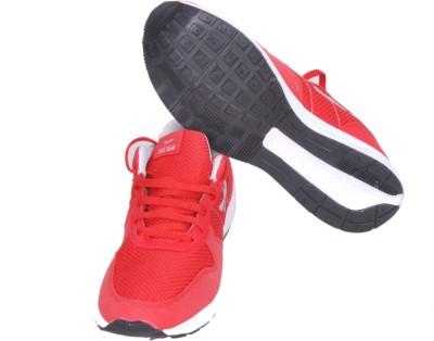 SEGA Walking Shoes For Men(Red, Grey