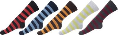 CJ15 Men Striped Ankle Length(Pack of 3)
