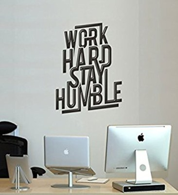 Fantaboy Quotes For Office Wall Decal/Sticker (60cm X 70cm)(70 cm X cm 50, Black)  available at flipkart for Rs.199