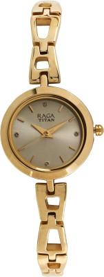 TitanNN2540YM06 Raga Analog Watch   For Women