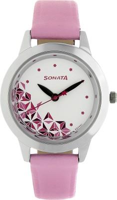 Sonata NK87019SL04 Analog Watch - For Women