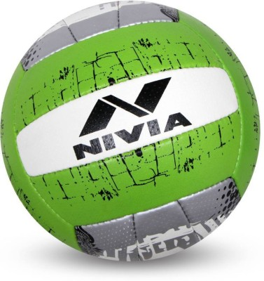 Nivia PU-5000 Volleyball - Size: 4(Pack of 1, Multicolor)  available at flipkart for Rs.690