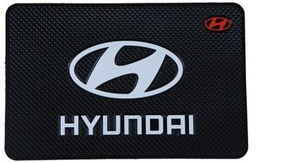 Auto Garh PVC Standard Mat For  Hyundai Verna, Elantra, i10 Active, i20, i10, Santro Xing, Sonata Embera, SantaFe(Multicolor)