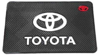 Auto Garh PVC, Rubber Standard Mat For  Toyota Corolla Altis, Etios Liva, Etios Cross, Fortuner Old, Fortuner, Innova, Camry, Qualis(Multicolor)