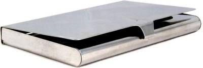 serveuttam MetallicCH0202 6 Card Holder(Set of 1, Silver)