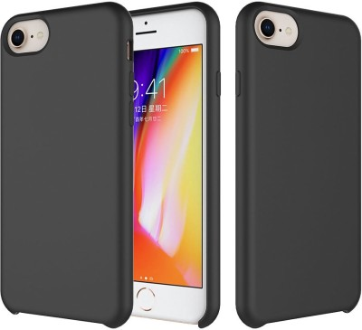 Crust Back Cover for Apple iPhone 8, Apple iPhone 6, Apple iPhone 6s, Apple iPhone 7(Black, Shock Proof)