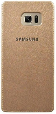COVERNEW Back Cover for Samsung Galaxy Note 7 (N930G)(Gold, Dual Protection)