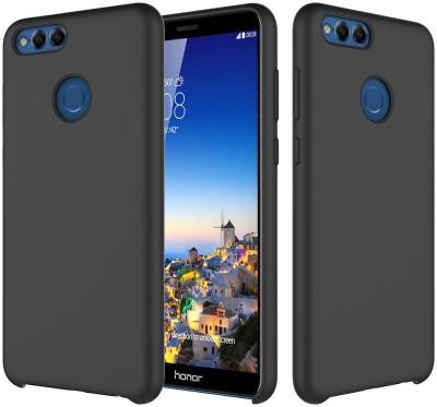 Crust Back Cover for Honor 7X(Black, Shock Proof)