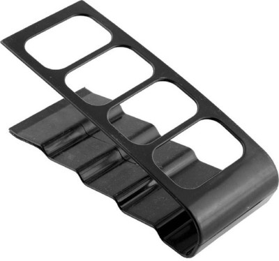 Trendmakerz 4 Compartments Black Metal Remote stand(Black)  available at flipkart for Rs.177