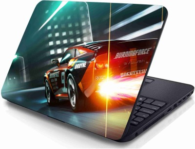 Creatick Studio Sports Car Vinyl Laptop Decal 15.6