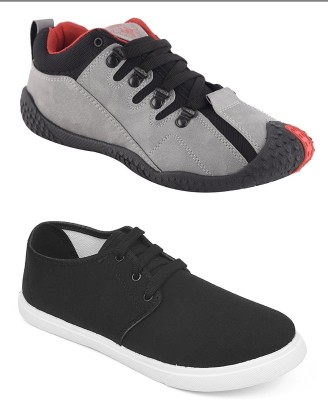 1000b9a7bc 45% OFF on Chevit Men s Combo Pack of 2 Sports   Casual Shoes (Running    Sneakers) Casuals For Men(Multicolor) on Flipkart