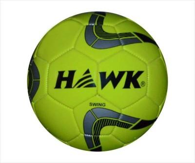 HAWK Swing N.Y Football - Size: 5 (Pack of 1, Yellow) Football - Size: 5(Pack of 2, Yellow)
