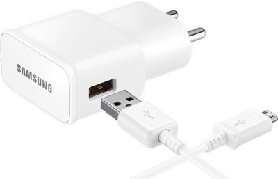 NeroEdge Samsung Travel Adapter 1 A Mobile Charger with Detachable Cable White