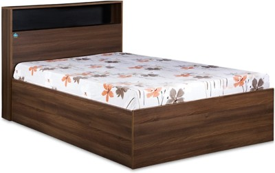 Delite Kom Urban Engineered Wood Single Bed With Storage(Finish Color -  Acacia Dark matt finish)