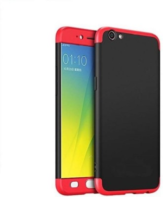 Coverage Front   Back Case for VIVO Y53   GKK BACKcase Red, Black, Dual Protection Coverage Plain Cases   Covers