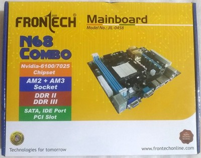 Frontech JIL-0458 Combo Motherboard(Yellow and Blue)