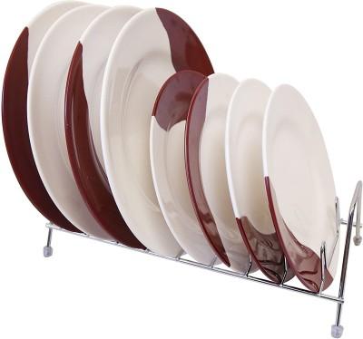 Dragon Kitchen Wash Utensils Dish Drainer Stainless Steel, Plastic Kitchen Rack(Multicolor)